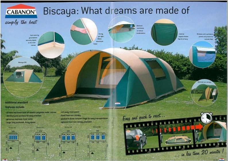 Evolution Cabanon Biscaya (2006 > 2018 : toiles...) & TIPS Biscaya%20-%202006%20-%20UK